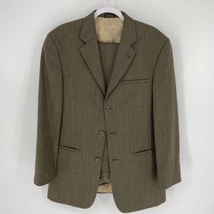 J. Ferrar Mens Two Piece Suit Jacket 34 X 34 Tall